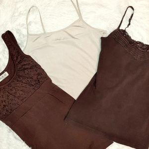 Bundle of 3 MKM Designs tank top blouses